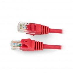 Patchcord Ethernet UTP 5e 2m - červený
