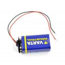 Klip na 9V baterii (6F22)