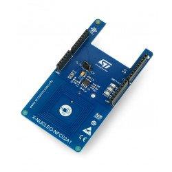 STM32 NUCLEO-NFC02A1 - značka NFC - rozšíření k STM32 Nucleo