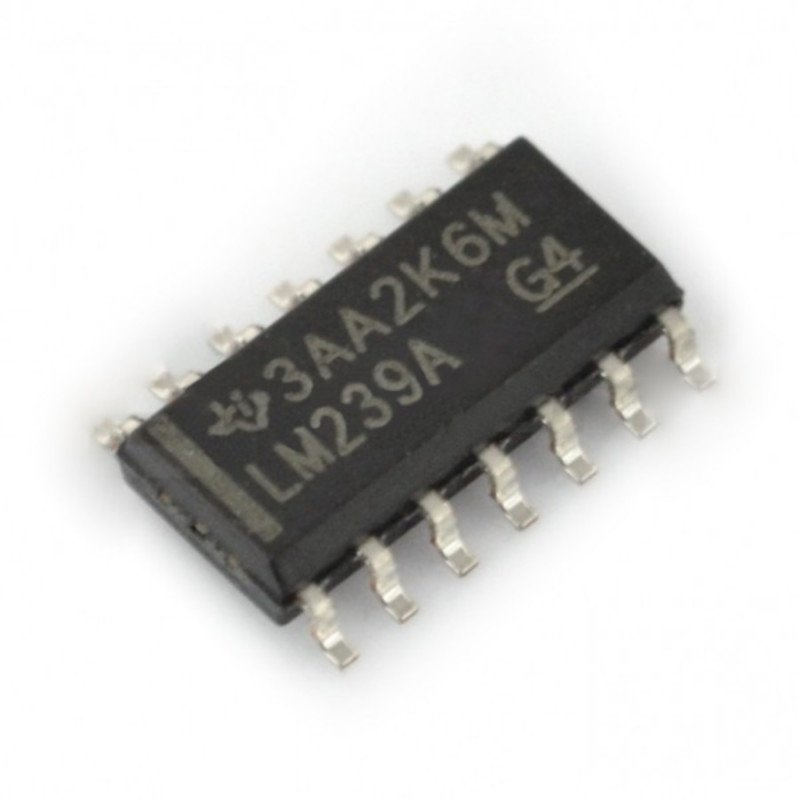 Analogový komparátor LM239AD - SMD