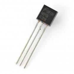 Bipolární tranzistor NPN Darlington MPSA29 100V / 0,8A