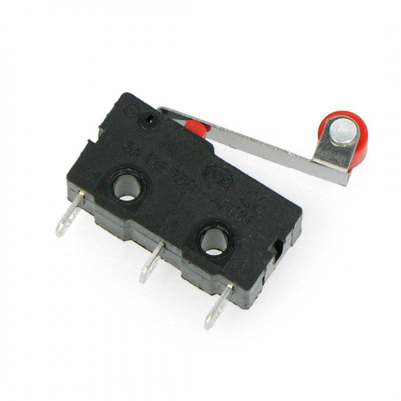 Mini koncový spínač s kladkou - WK626