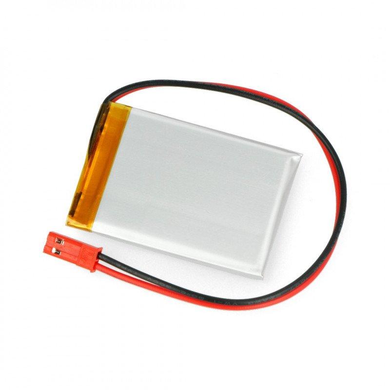 Baterie Akyga 680mAh 1S 3,7 V Li-Pol - konektor JST-BEC + zásuvka