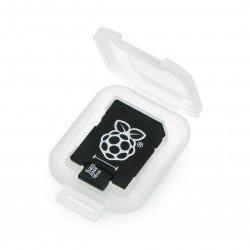 Paměťová karta micro SD / SDHC Raspberry Pi + systém NOOB