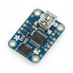 Odporový řadič dotykové obrazovky AR1100 - modul Adafruit