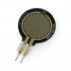 Snímač tlakové síly, kulatý 15 mm (0,6 '') - krátký konektor -