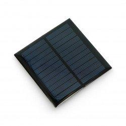 Solární článek 1W / 5,5V 95x95x3mm