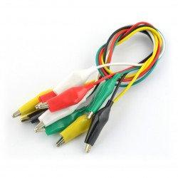 Krokodýlí kabely - 45cm barevné 5ks