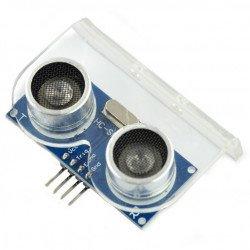 Ultrazvukový snímač vzdálenosti HC-SR04 2-200 cm + montážní držák