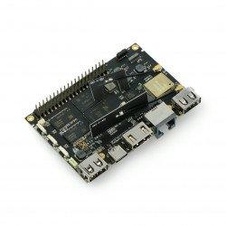 Khadas VIM2 Max - ARM Cortex A53 Octa-Core 1,5 GHz WiFi + 3 GB RAM + 64 GB eMMC