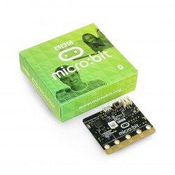 Micro: bit - vzdělávací modul, Cortex M0, akcelerometr, Bluetooth, 5x5 LED matice