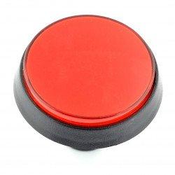 Tlačítko 6cm - červené (verze eco2)