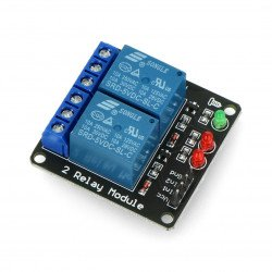 Dvoukanálový reléový modul RM3 5V 10A / 125VAC