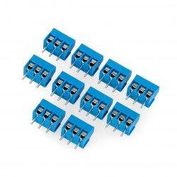 ARK konektor, 3,5 mm rastr, 3 piny (+) - 10ks.