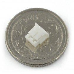 Zásuvka JST, rovná, rozteč 1,5 mm - vodorovná