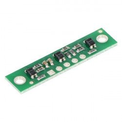 Pás s reflexními senzory QTR-3RC - digitální - Pololu 2457