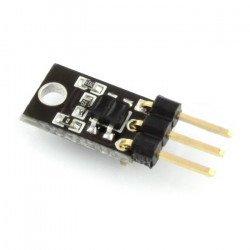 Difúzní senzor KTIR0711S - modul s konektory