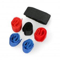 Organizér pro foukací kabely - pásek na suchý zip - 6 ks