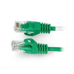 Lanberg Ethernet Patchcord UTP 5e 30m - zelený
