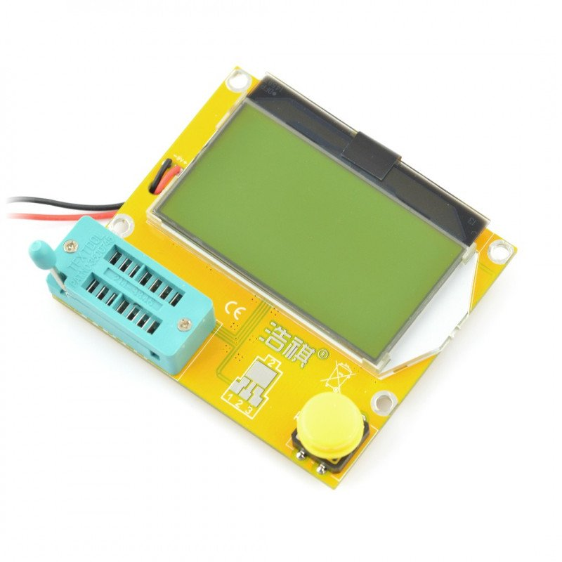 Testovací sada, zkoušečka elektronických součástek - BTE-056