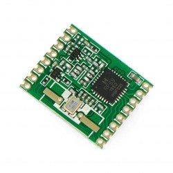 Rádiový modul - RFM69HW-433S 433MHz - SMD transceiver
