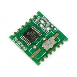 Rádiový modul - RFM12B-868S2 868MHz - SMD transceiver