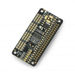 Adafruit 16kanálový ovladač PWM I2C - Servo Bonnet pro Raspberry Pi