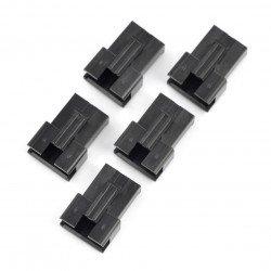 3kolíkové pouzdro zásuvky - rozteč 2,5 mm