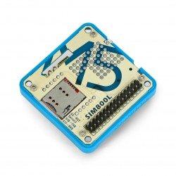 Moduł GSM/2G SIM800L z mikrofonem i złączem Jack 3,5 mm - moduł