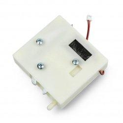 Plastový elektrický zámek na nábytek - 12V