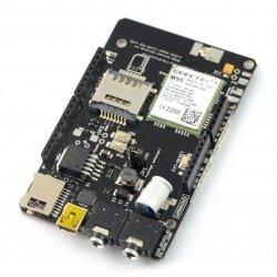A-GSM Shield GSM / GPRS / SMS / DTMF v2.064 - pro Arduino a Raspberry Pi - verze s pájenými konektory