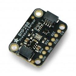 BMP280 - digitální barometr, tlakový senzor 110kPa I2C / SPI 3-5V - STEMMA QT - Adafruit 2651