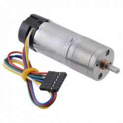 Motor s převodovkou 25Dx56L 172: 1 6V 33RPM + kodér CPR 48 -