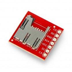 Modul čtečky karet microSD - SparkFun BOB-00544