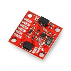 MAX30105 - multi senzor - vzdálenost, srdeční frekvence, kouř - SparkFun SEN-14045
