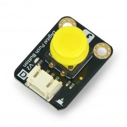Digitální tlačítko DFRobot Gravity - Tact Switch - žluté