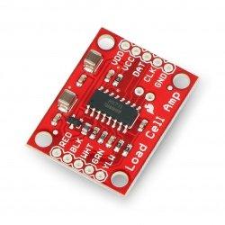 HX711- zesilovač pro tenzometrický paprsek - SparkFun SEN-13879