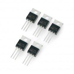 N-MOSFET IRFZ34N - tranzistor THT - 5ks.