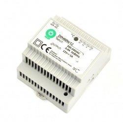Zasilacz DIN60W12 na szynę DIN - 12V / 5A / 60W