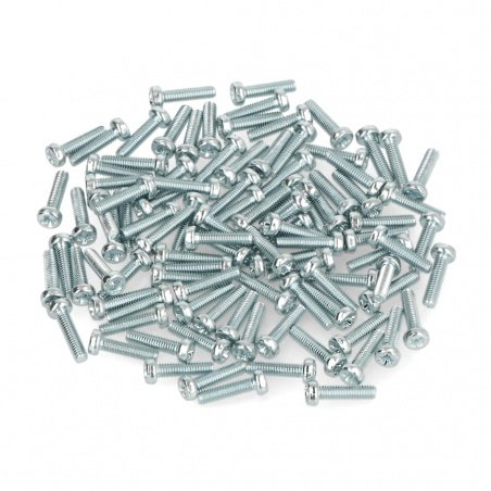 Šroub M2,5 Bossard délka 10 mm pozinkovaný - 100 kusů