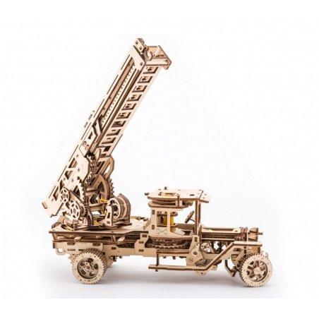 Hasiči - mechanický model pro montáž - dýha - 537 prvků -