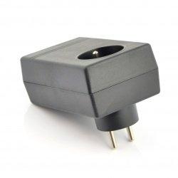Plastové pouzdro pro napájecí zdroj Kradex Z27 - 120x70x46mm
