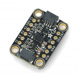 LIS3DH 3osý digitální akcelerometr I2C / SPI - STEMMA QT -