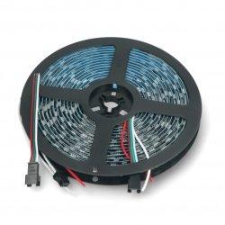 Pasek LED RGB WS2811 - cyfrowy, adresowany - IP65 60LED/m