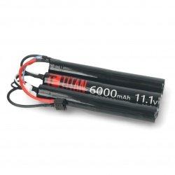 Li-Ion Titan 6000mAh 16C 6S 11,1V baterie - Tamiya - 3x