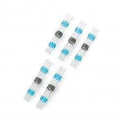 Rychlospojka s cínem + teplem smrštitelná fólie 16-14AWG 5 mm -
