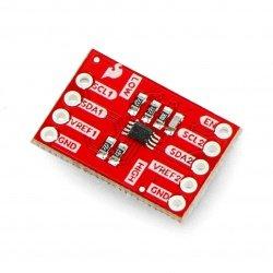 Převodník logické úrovně I2C PCA9306 - SparkFun BOB-11955