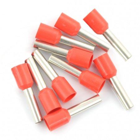 Izolované barevné trubkové svorky 1,0 / 8mm - 10ks.