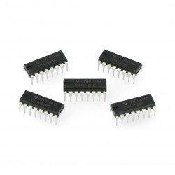 4 bitové multiplexery