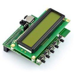 Raspberry Pi Hat - klávesnice a displeje